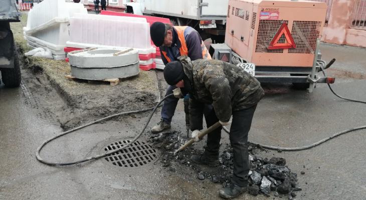 На одной из улиц Йошкар-Олы обновят систему водоотведения