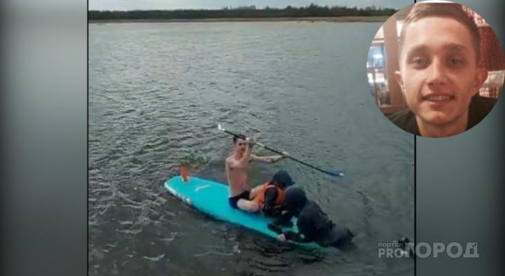 Йошкаролинец спас от смерти отца с сыном, тонущих в ледяной воде