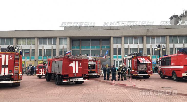Подробности пожара в ДК имени ХХХ-летия: йошкаролинцев эвакуировали из здания