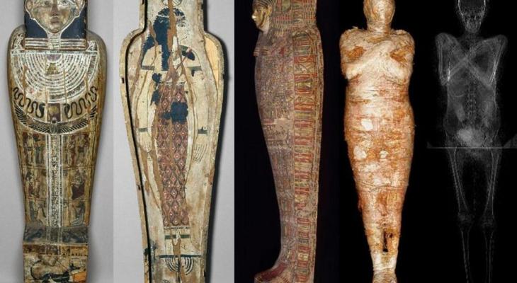 Ученые впервые обнаружили мумию беременной женщины