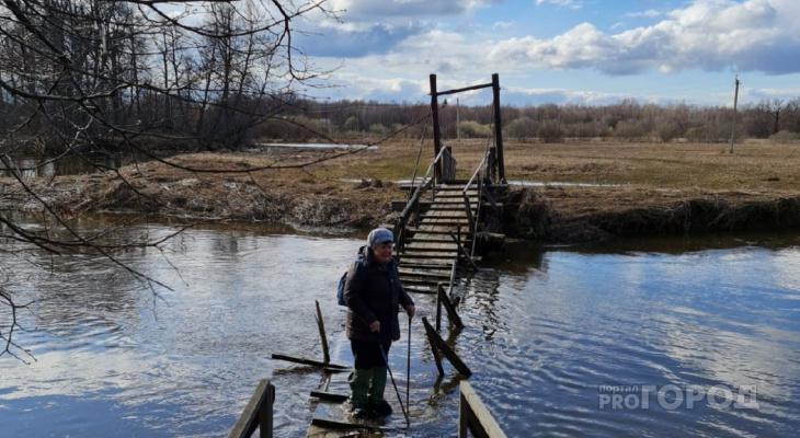 «Муж строил этот мост своими руками»: жительницу Марий Эл не слышат власти района