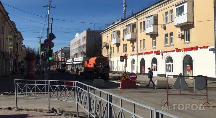 Улица Советская в Йошкар-Оле будет перекрыта до конца мая