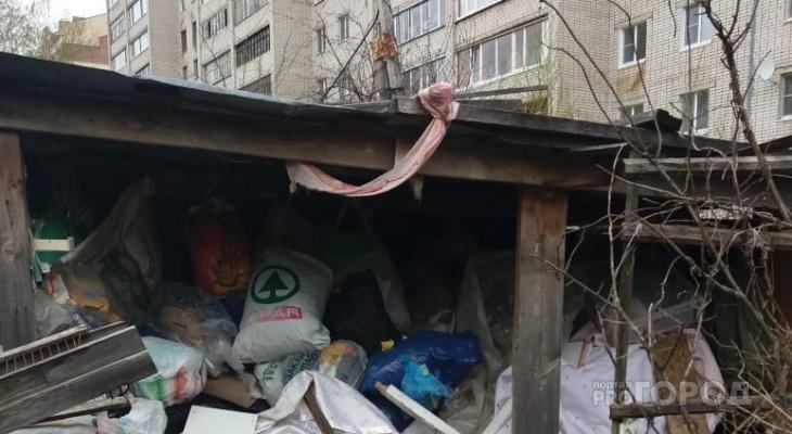«Вонь стоит невыносимая»: йошкаролинка собирает в одном месте мусор со всех ближайших помоек