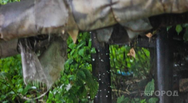 В Йошкар-Оле лопнувшая труба оставила без воды дома в частном секторе