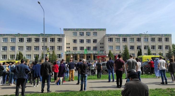 Стрельба и взрывы: в казанской школе молодой парень открыл огонь