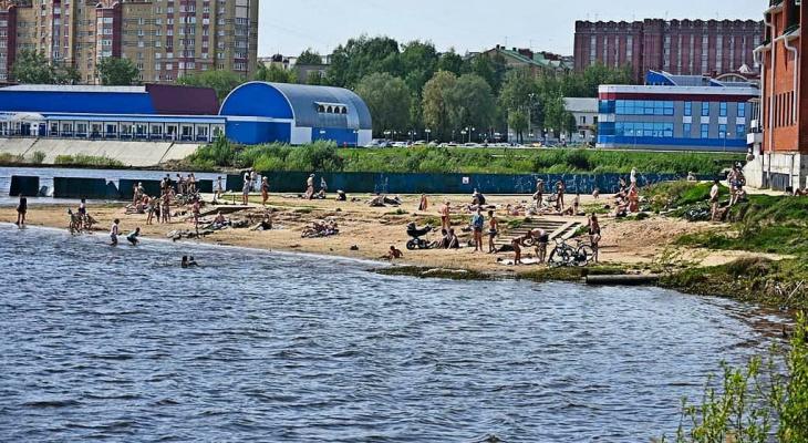 «С головой не дружите?»: в Йошкар-Оле запрещено купаться, несмотря на 30-градусную жару