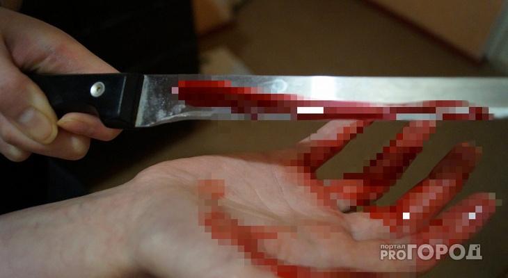 Житель Марий Эл ударил ножом в грудь своего друга