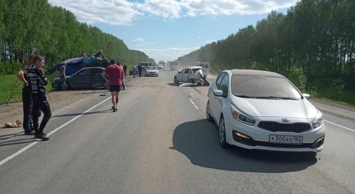 Причиной массового ДТП на Казанском тракте в Марий Эл стал мобильный телефон