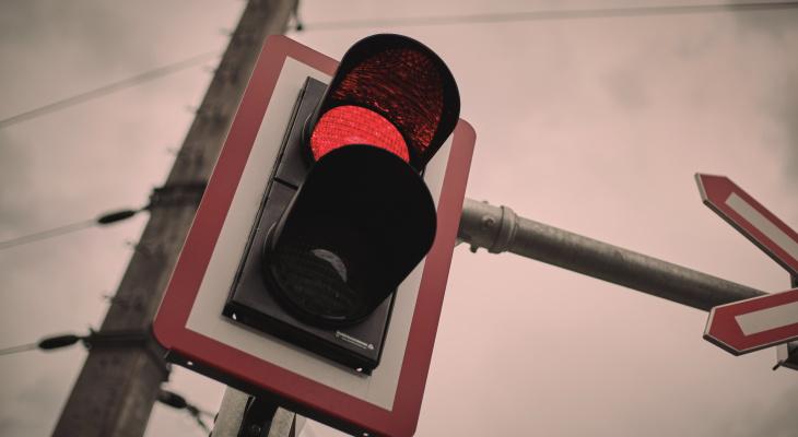 Сегодня на одном из перекрестков Йошкар-Олы отключат светофор