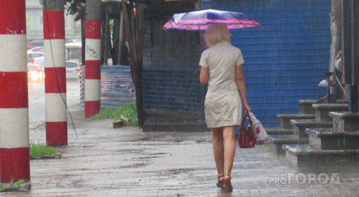 «Лето приболело»: в Йошкар-Олу возвращаются дожди и облака