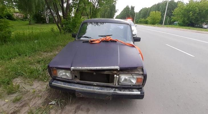 В Йошкар-Оле полицейские задержали пьяного водителя без прав