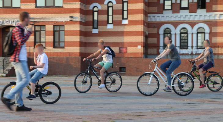 «На стороне закона»: йошкаролинцы вышли на велодорожку войны