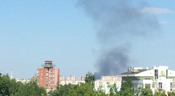 В Йошкар-Оле за два часа загорелось еще одно здание