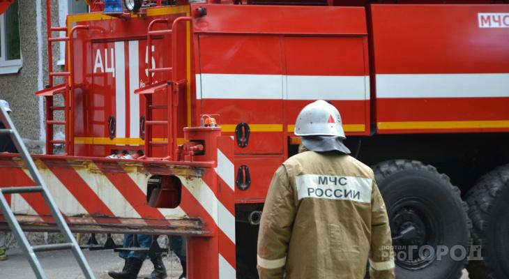 Стало известно о пожаре сегодня в Йошкар-Оле