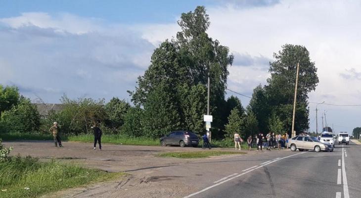 Две женщины пострадали в ДТП на трассе Марий Эл из-за «лихача»