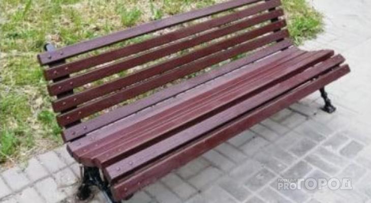 «Долгожданный ремонт»: в сквере Пушкина в Йошкар-Оле восстановили скамейки