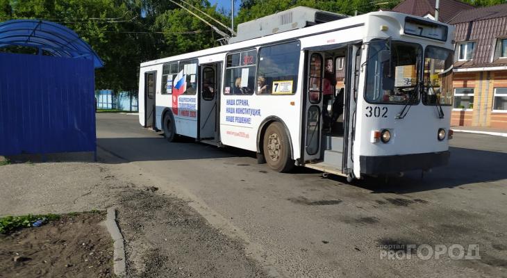 Йошкар-олинские троллейбусы ходят по новым маршрутам