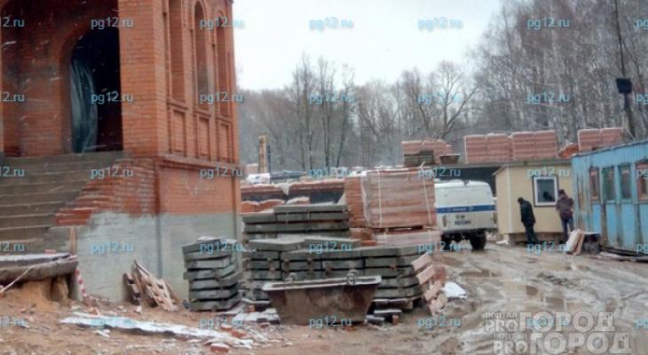 В Йошкар-Оле нашли виновного в гибели рабочего на стройке в Тархановской церкви