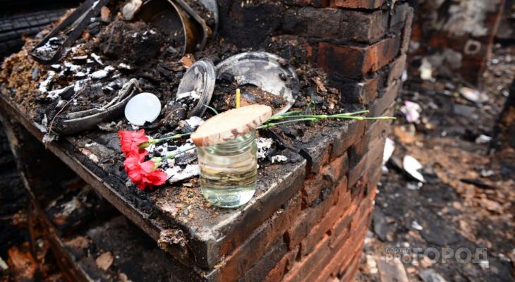 Пожарные нашли в сгоревшем доме тело жителя Марий Эл