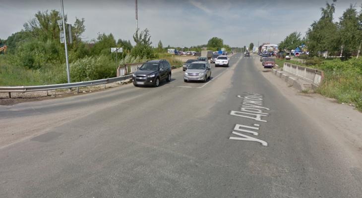 В Йошкар-Оле на 10 дней перекроют два участка дорог