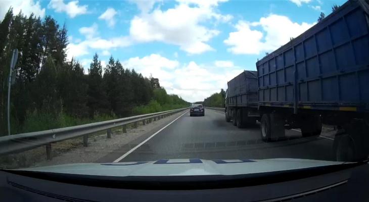 В Марий Эл на водителя КАМАЗа завели уголовное дело за желание избежать бюрократии