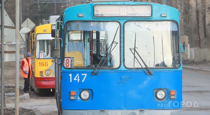 Троллейбус №8 в Йошкар-Оле изменит схему движения