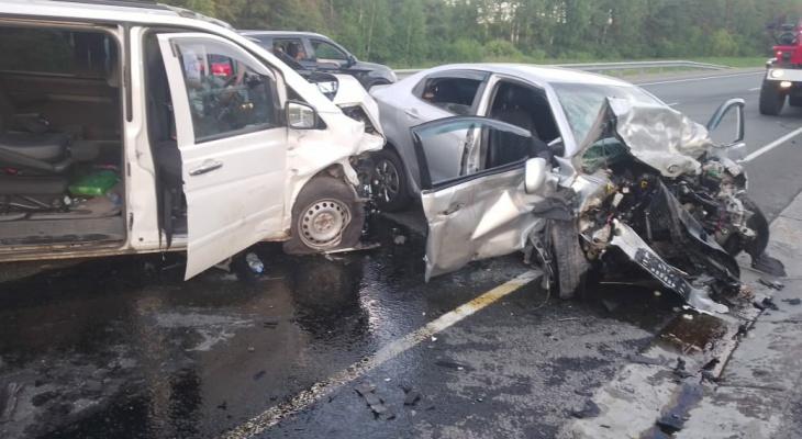 На трассе в Марий Эл произошло смертельное ДТП