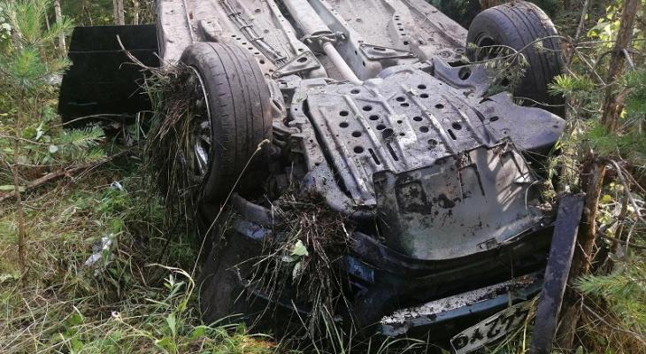 Молодая девушка пострадала в ДТП на трассе Марий Эл из-за пьяного мопедиста без прав