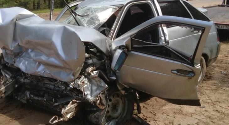Один из пострадавших в ДТП на трассе Марий Эл в Звениговском районе скончался в больнице