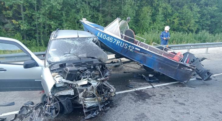 «Уснул за рулем»: серьёзное ДТП на Кокшайском тракте