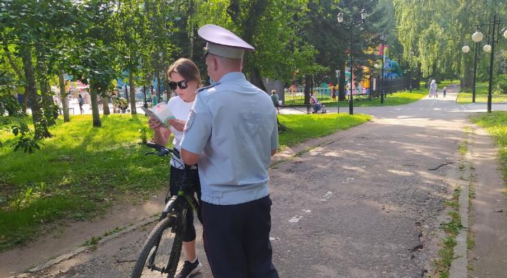 Йошкар-олинским велосипедистам расскажут про ПДД