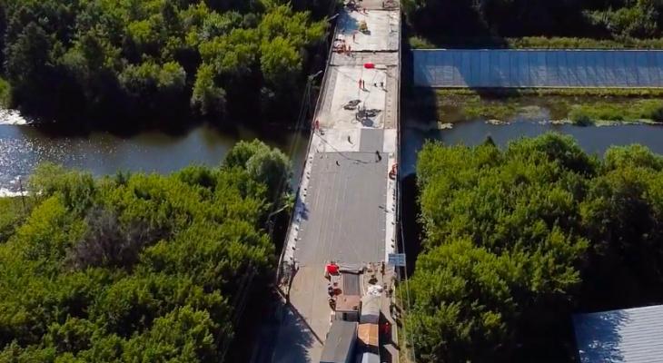 Ремонт Вараксинского моста в Йошкар-Оле будет завершен досрочно