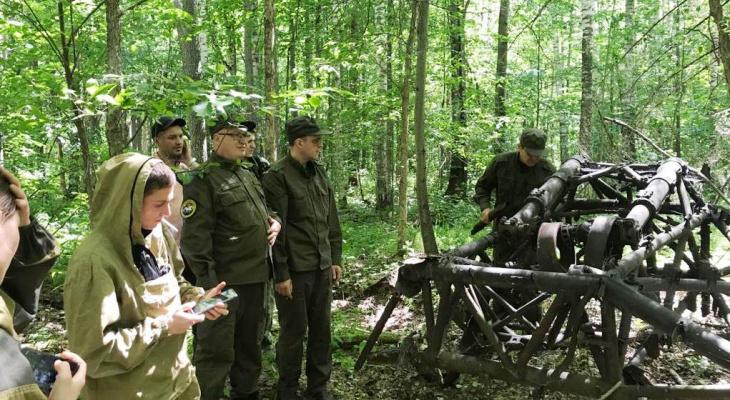 В болотах Марий Эл нашли бомбардировщик времен Второй мировой войны