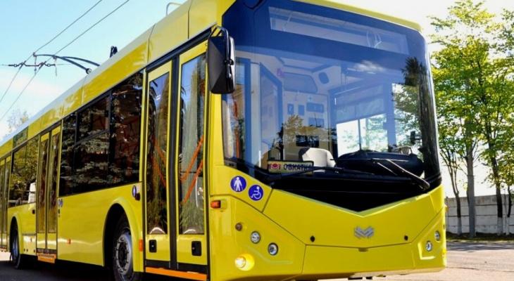 В Йошкар-Оле появятся новые троллейбусы