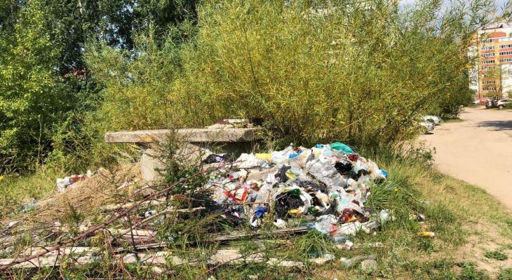 Йошкаролинцы жалуются на свалку в Сомбатхее