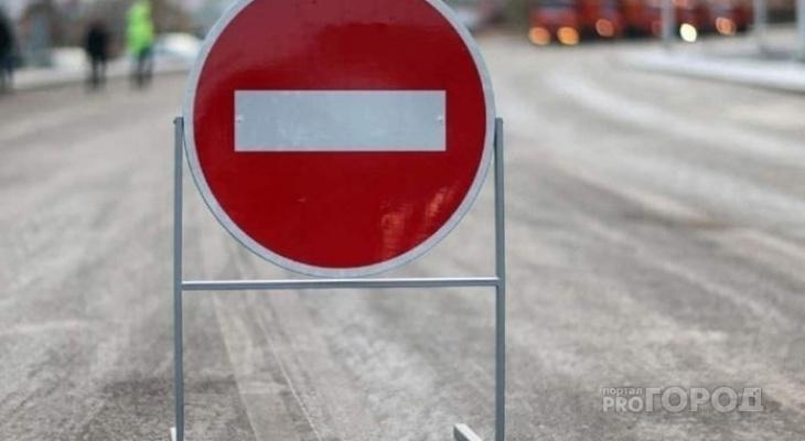 В Марий Эл из-за пожара перекрыт Кокшайский тракт