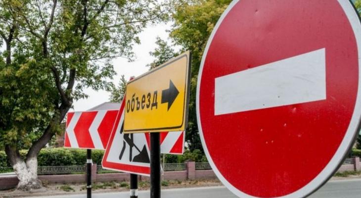 В Марий Эл продолжается перекрытие трасс из-за пожара