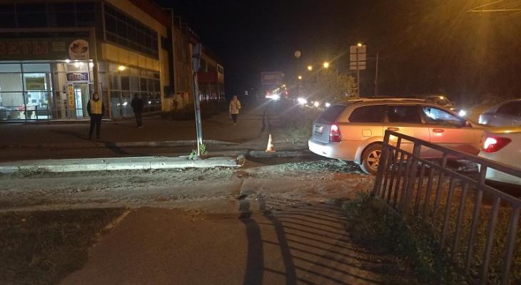 В Йошкар-Оле благородный водитель отвез в больницу пешехода, которого сам же сбил