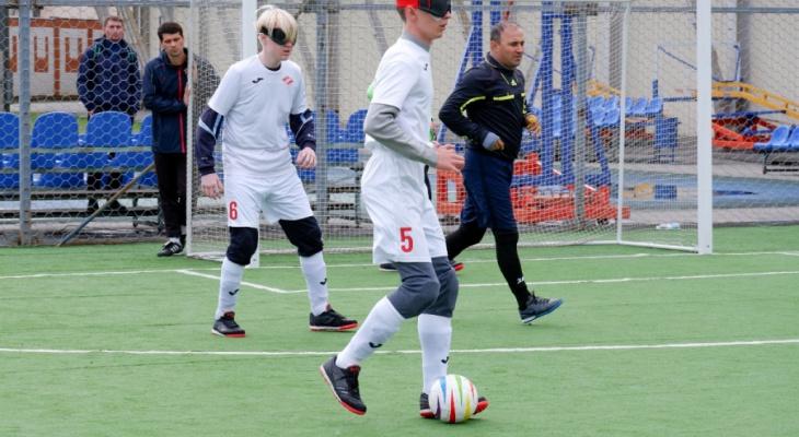 Сборная Марий Эл стала призёрам всероссийского первенства мини-футбола слепых