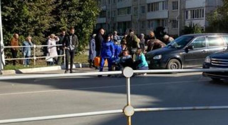 В Медведево на пешеходном переходе сбили женщину с ребёнком