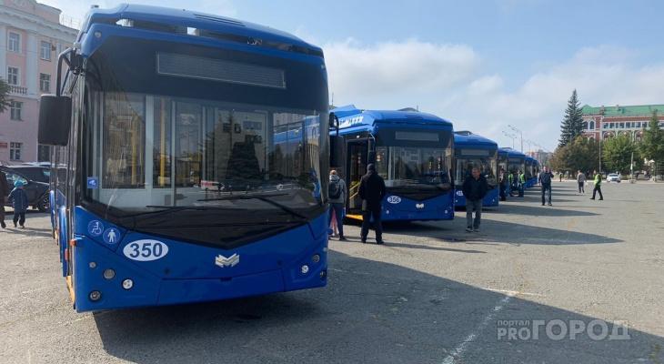 «В первую неделю проезд будет бесплатный»: в Йошкар-Оле новые троллейбусы запускают с сегодняшнего дня