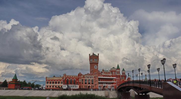 «Унылая пора»: небо над Йошкар-Олой снова заволокут облака