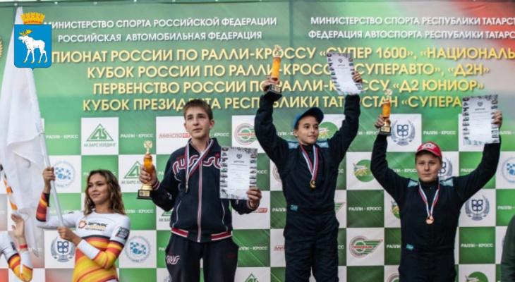 Йошкаролинец стал двукратным вице-чемпионом по ралли-кроссу