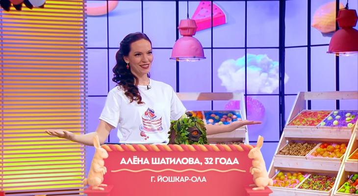 Йошкаролинка показала на федеральном канале в шоу «Кондитер» свой «глаз дракона»