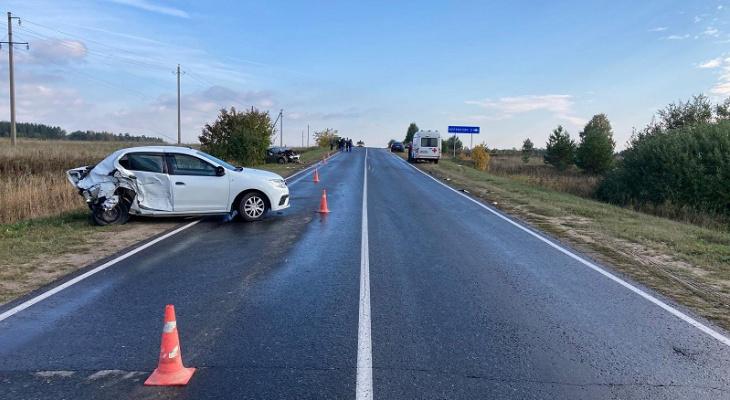 «Машины разбросало по дороге»: в Марий Эл произошло массовое ДТП