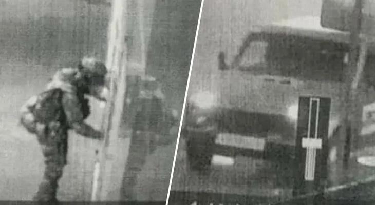 Неизвестный в военной форме и оружием ворвался в полицию, убив перед этим семью