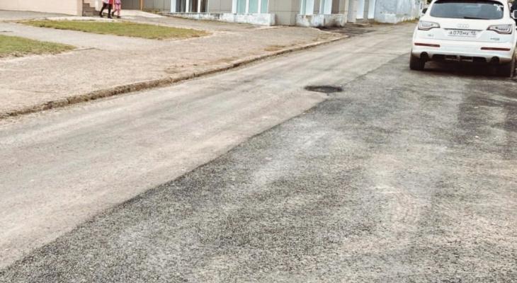 «Теперь не укачает»: В Йошкар-Оле благоустроили проезд к детской поликлинике №5