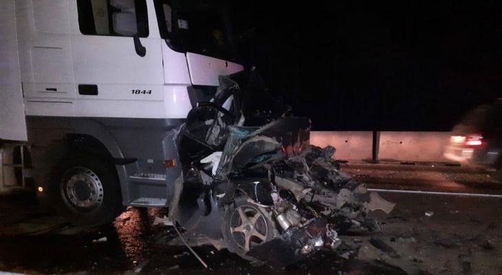 «Машина всмятку»: в Марий Эл произошло массовое ДТП