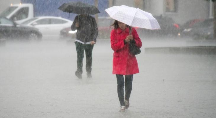 На Марий Эл обрушатся затяжные дожди