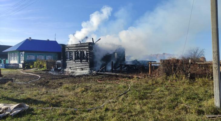 В Марий Эл в результате пожара погибли люди